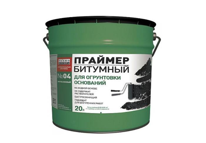 Праймер битумный эмульсионный №04